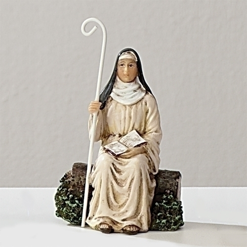 Statue St Padre Pio 3.5 inch Painted Resin Figurine Patron Saint Catholic Boxed