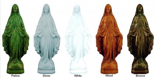 A Beautiful, Finely Detailed Outdoor Statue, Truly A Wonderful Addition To  Bring A Sense Of The Sacred To Any Garden, Yard, ...