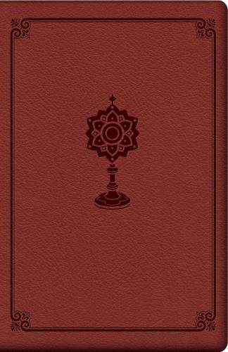Prayer Manual for Eucharistic Adoration Leather