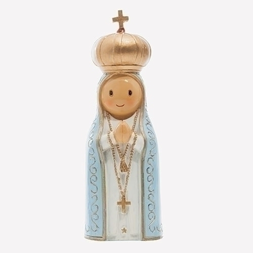 Little Drops of Water Our Lady of Fatima 4.25 Inch