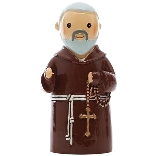 Little Drops of Water Padre Pio 3.25 Inch