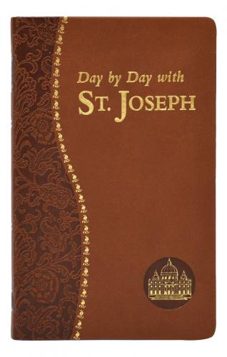 Prayer Book Day By Day With St Joseph Dura-Lux Brown