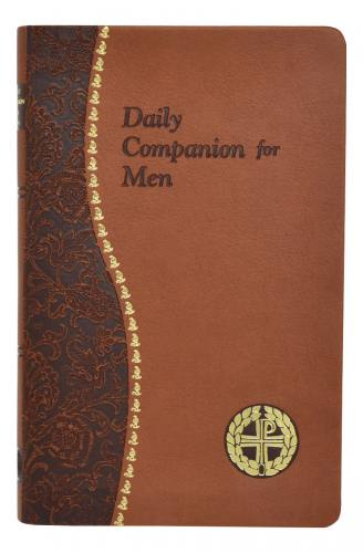Prayer Book Daily Companion For Men Dura-Lux Brown