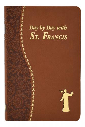 Prayer Book Day By Day With St. Francis Dura-Lux Brown