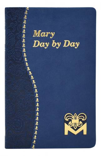 Prayer Book Mary Day By Day Dura-Lux Blue
