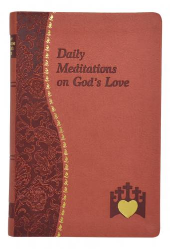Prayer Book Daily Meditations On God's Love Dura-Lux Red
