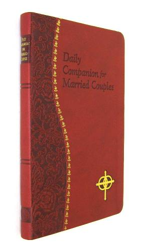 Prayer Book Daily Companion Married Couples Dura-Lux Red