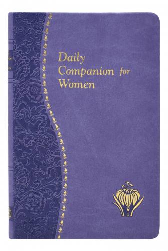 Prayer Book Daily Companion For Women Dura-Lux Purple