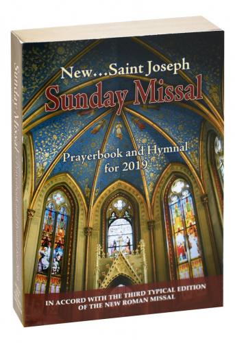 St Joseph Sunday Missal Prayerbook and Hymnal for 2019