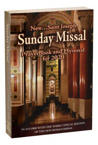 St Joseph Sunday Missal Prayerbook and Hymnal for 2020