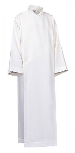 Alb Server Front Wrap 100% Polyester White