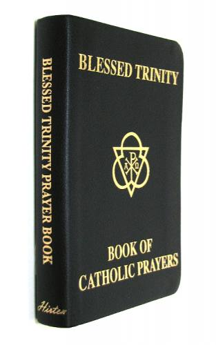 Prayer Book Blessed Trinity Imitation Leather Black