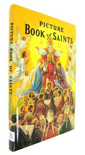Picture Book of Saints Padded Hardcover