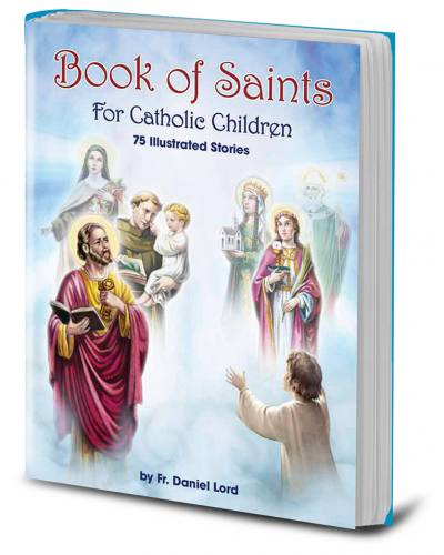 Book of Saints For Catholic Children Hardcover