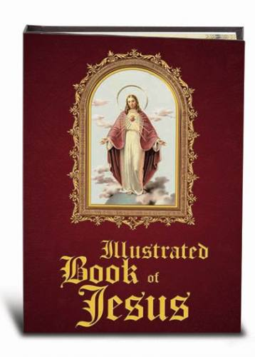 Illustrated Book of Jesus Hardcover