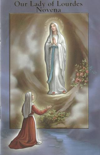 Novena Mary Our Lady Lourdes Paperback [2432-252]