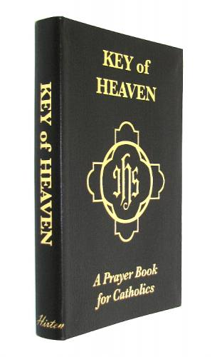 Prayer Book Key of Heaven Brown Imitation Leather