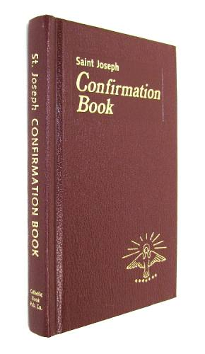 Prayer Book St Joseph Confirmation Book Hardcover Red