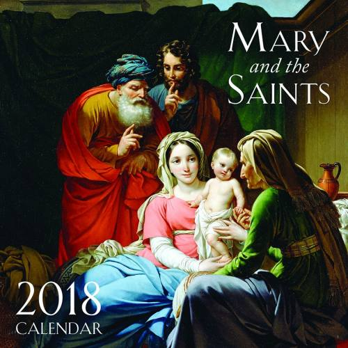 2018 Mary & Saints Wall Calendar
