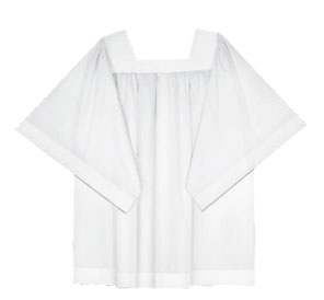 Surplice Adult Permanent Press Basic Poly/Cotton Blend