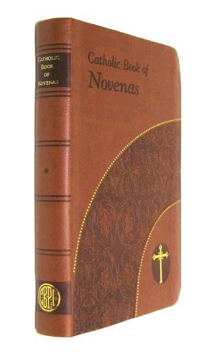 Prayer Book Catholic Book of Novenas Dura-Lux Brown