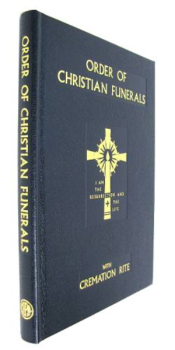 Order of Christian Funerals Leather Hardcover