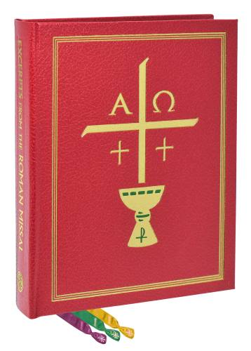 Excerpts From The Roman Missal Chapel Clothbound Edition