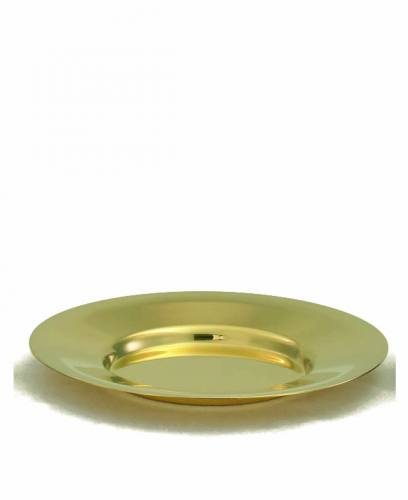 "Well Paten High Polish Gold Plated 6-3/4"" Alviti Creations"