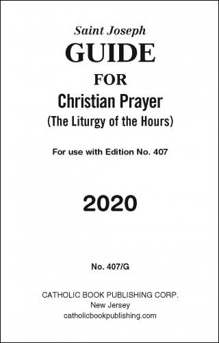 2020 Christian Prayer Guide - Large Print