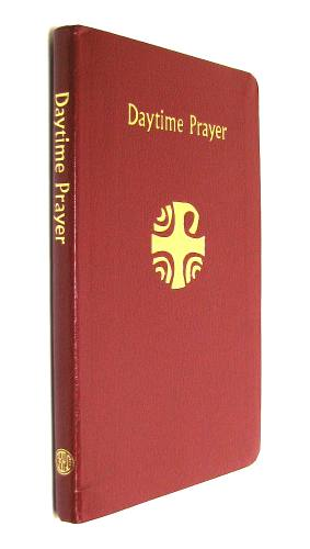 Daytime Prayer Regular Print Imitation Leather Burgundy