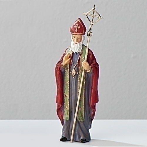 Statue St Nicholas Myra 3.5 inch Resin Painted Boxed