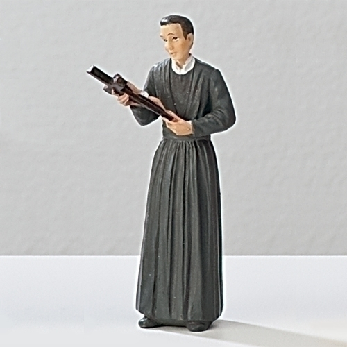 Statue St Gerard 3.5 inch Resin Painted Boxed