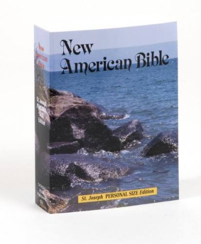 New American Bible St Joseph Personal Small Print Paperback