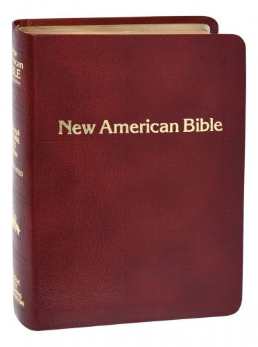 New American Bible St Joseph Personal Gift Ed Bonded Leather Red