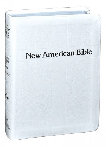New American Bible St Joseph Personal Gift Ed Bonded Leather Whi