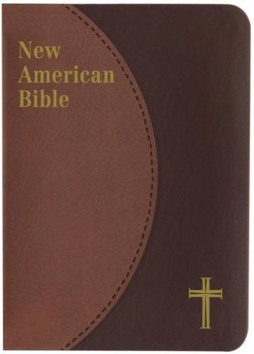 New American Bible St Joseph Personal Small Print Dura-Lux Brown