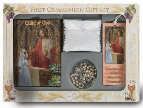 First Communion Gift Set Child of God Deluxe Edition Girl