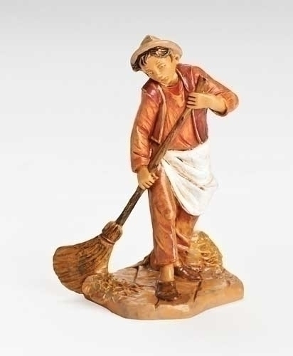 "Fontanini 5"" Scale Nativity Azaria The Stablehand"