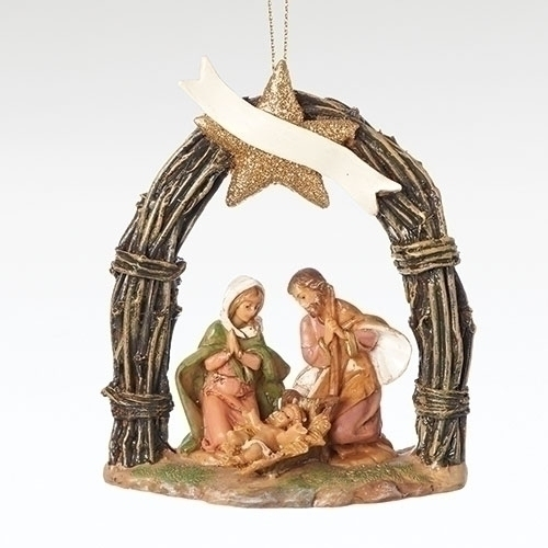 Fontanini Ornament Holy Family 2018 Tour Piece