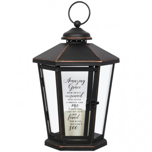 Lantern Amazing Grace LED