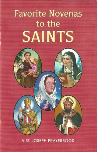"Novena Saints ""Favorite Novenas"" Paperback"