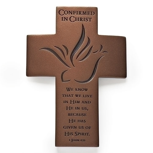 Cross Wall Confirmation 7 inch Dove