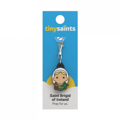Tiny Saints Charm St Brigid of Ireland