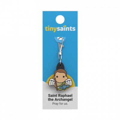 Tiny Saints Charm St Raphael the Archangel