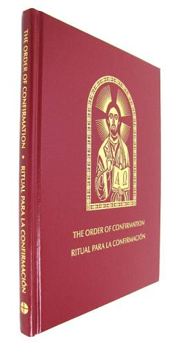 Order of Confirmation Bilingual Leather Hardcover
