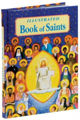 Illustrated Book of Saints Hardcover