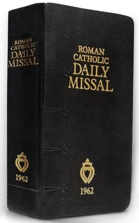 1962 Roman Catholic Daily Missal Angelus Press