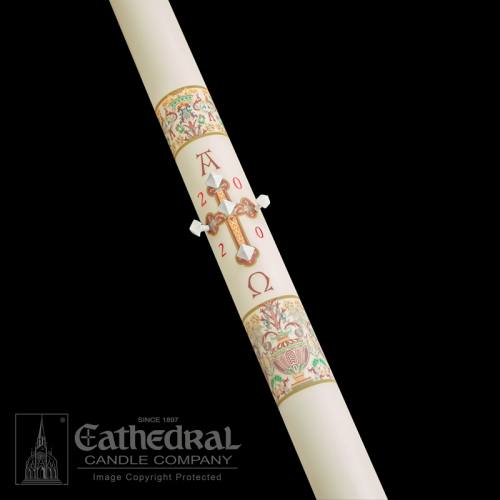 "Paschal Candle 2"" x 36"" Investiture Size 4-2"