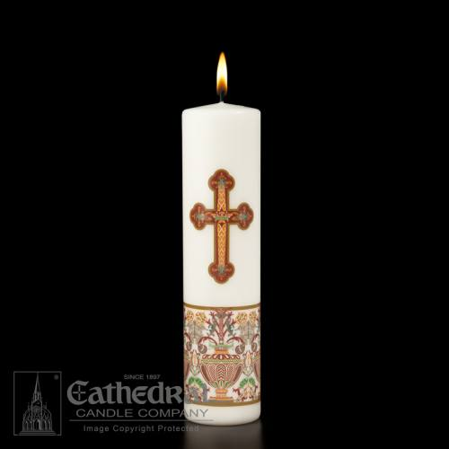 "Christ Candle Investiture Advent 3"" x 12"""