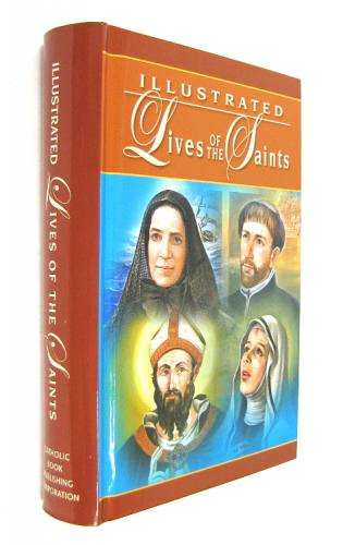 Lives of the Saints Illustrated Volume 1 Hardcover